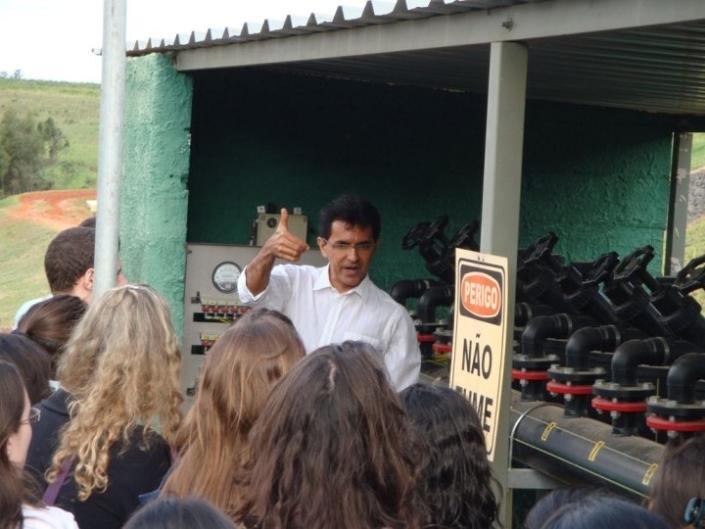Juscelino Dourado em Visita Esalq 2010
